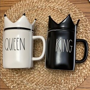 Rae Dunn King and Queen